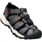Dětské sandály Keen Newport Neo H2 šedá magnet/spicy orange