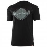 Pánské funkční triko Lasting Lucas černá černá