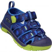 Dětské sandály Keen Newport H2 Inf tmavě modrá blue depths/chartreuse