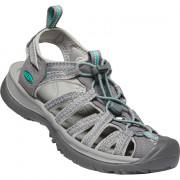 Dámské sandály Keen Whisper W světle šedá medium grey/peacock green