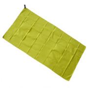Rychleschnoucí ručník Yate L žlutozelená