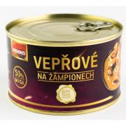 Консерви VESEKO Свинина з шампіньйонами 400 г