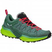 Dámské boty Salewa Ws Dropline žlutá/zelená Feld Green/Fluo Coral