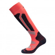 Шкарпетки Devold Alpine Woman Sock помаранчевий/чорний