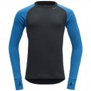Pánské triko Devold Expedition shirt M černá/modrá Skydiver/Ink