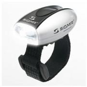Переднє світло Sigma Micro срібний