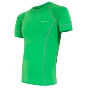Pánské funkční triko Sensor Coolmax fresh zelená zelená