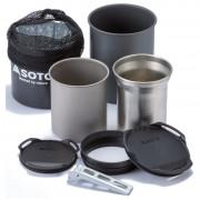 Sada nádobí Soto Thermostack + Cook Set Combo černá