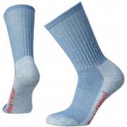 Dámské ponožky Smartwool W Hike Light Crew světle modrá blue steel