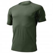 Pánské funkční triko Lasting Quido tmavě zelená