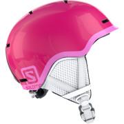 Dětská lyžařská přilba Salomon Grom růžová Glossy
