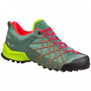 Dámské boty Salewa WS Wildfire zelená/červená Myrtle/Tender Shot