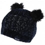 Dětská zimní čepice Regatta Hedy Lux Hat II černá Navy