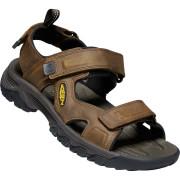 Pánské sandály Keen Targhee III Open Toe hnědá bison/mulch