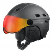 Гірськолижний шолом Relax Polar Visor чорний
