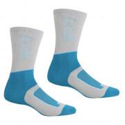 Жіночі шкарпетки Regatta LdySamaris2Season сірий/синій