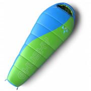 Дитячий спальний мішок Husky Kids Merlot -10 °C зелений
