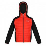 Дитяча куртка Regatta Kielder Hybrid V червоний/чорний