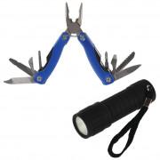 Набір багатофункціональних інструментів + ліхтарик Regatta Gadget Box