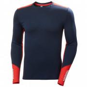 Чоловіча функціональна футболка Helly Hansen Lifa Merino Midweight Crew синій/червоний