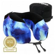 Podhlavník Cabeau Evolution Pillow S3 modrá Galaxy