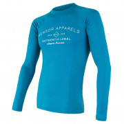 Pánské funkční triko Sensor Merino DF Label modrá modrá