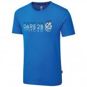 Triko Dare 2b Focalize Tee modrá/černá Athletic Blue
