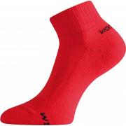 Ponožky Lasting WDL červená červená