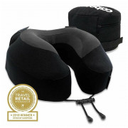 Podhlavník Cabeau Evolution Pillow S3 černá Jet Black