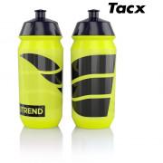 Велосипедна пляшка Nutrend Láhev 2019 Tacx 0,5l жовтий/чорний