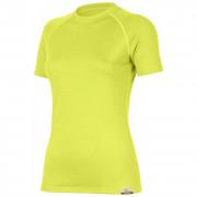 Dámské funkční triko Lasting Alea žlutá žlutá