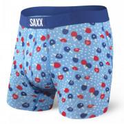 Boxerky Saxx Vibe Boxer Brief světle modrá blue ping pong