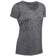 Жіноча функціональна футболка Under Armour Tech SSV - Twist чорний