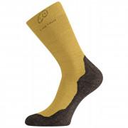 Ponožky Lasting WHI žlutá/černá hořčicová