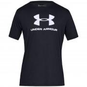 Pánské triko Under Armour Sportstyle Logo SS černá Black