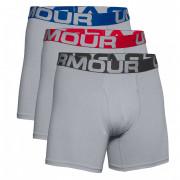 Чоловічі боксери Under Armour Charged Cotton 6in 3 Pack