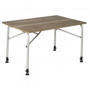 Stůl Bo-Camp Feather 100x68 cm hnědá Wood look