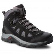 Pánská obuv Salomon Authentic Ltr Gtx černá/šedá Magnet/black/quiet shade