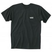 Чоловіча футболка Vans MN Left Chest Logo Tee чорний