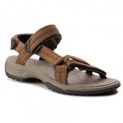 Dámské sandály Teva Terra Fi Lite Leather hnědá Brown