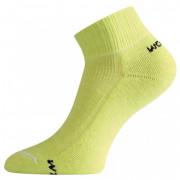 Ponožky Lasting WDL světle zelená zelená