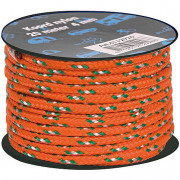 Šňůra Bo-Camp Nylon Guy Rope 20 m 4 mm oranžová orange