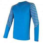 Чоловіча функціональна футболка Sensor Merino Active довгий рукав синій
