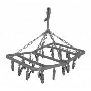 Сушка для одягу Bo-Camp Drying carousel foldable 24 сірий