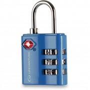 Zámek Lifeventure TSA Combi Lock modrá Blue