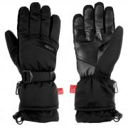 Pánské lyžařské rukavice Relax Frontier černá černá