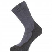 Ponožky Lasting WHI modrá/šedá modrá