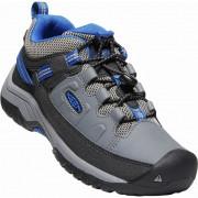 Dětské boty Keen Targhee Low Wp šedá steel grey/baleine blue