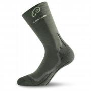Ponožky Lasting WHI šedo-zelená zelená