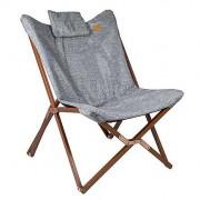 Křeslo Bo-Camp Relax Chair Bloomsbury šedá